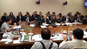 Comienza sesión de Comisión Constitución, Legislación, Justicia y Reglamento que abordará proyecto de ley