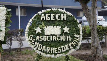 AGECH presente en ceremonia conmemoración mártires de gendarmería