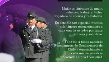 8 de Marzo, Día Internacional de la Mujer – Asociación de Gendarmes de Chile AGECH