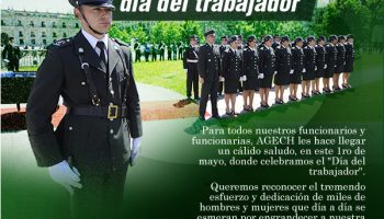 AGECH CONMEMORA ESTE 1RO DE MAYO, SALUDO DÍA DEL TRABAJADOR.